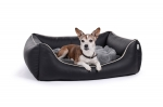 Kunstleder Hundebett Worldcollection